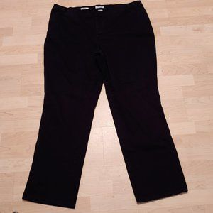 St. Johns Bay Women's Black Pants Size 20W